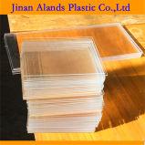 Material acrílico Plexi Folha de vidro