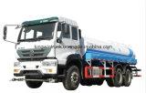 Tipo de condução caminhão de China 6X4 de tanque da água