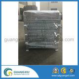 Tipo de elevación jaula del almacenaje para el emplazamiento del almacén/de la obra