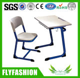 Hotsale 좋은 품질 의자 (SF-58S)를 가진 상업적인 교실 가구 학교 단 하나 책상