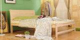 سرير صلبة خشبيّة [دووبل بد] حديثة ([م-إكس2238])