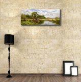 Paysage classique sur toile Peinture à l'huile