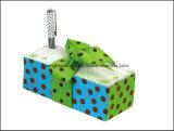 Novo papel impresso Note Cube Memo Cube com fita