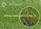 erba artificiale d'abbellimento Finished opaca di svago del giardino di 30mm (SUNQ-HY00154)