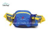 Nylon Outdoor Sport Voyage sacs de taille avec bouteille d'eau Holder