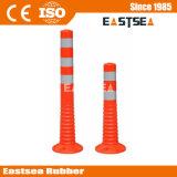 Orange Farbe PU-Straßen-flexibler Sprung-Pfosten (DH-FP-80)
