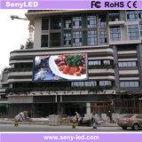 Cartelera a todo color publicitaria video al aire libre de la tarjeta LED de la INMERSIÓN P10