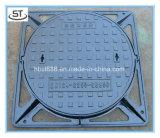 Tampa de câmara de visita do ferro de molde 850X850 D400 com frame quadrado