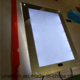 Indoor LED Magic Mirror Slim Bathroom Media Light Box
