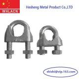 Precisión que echa los clips de cuerda maleables de acero resistentes de alambre cruzado
