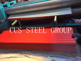 フィリピンのインドネシアカラー金属の屋根瓦PPGIの鋼鉄屋根ふきシート