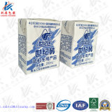 Papel revestido de PE para suco e leite