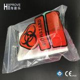 Ht 0758 Hiprove 상표 Biohazard 의학 견본 부대
