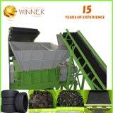 Pour les déchets de plastique et caoutchouc Découpe et les équipements de recyclage