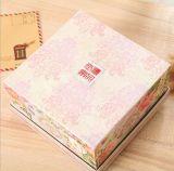 Nuevo estilo fino papel Cuadro de cosméticos, E-Co papel amable Caja de regalo