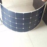 celle flessibili di Sunpower del comitato solare 100watt mono con il carico del connettore Mc4