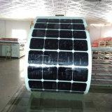 Comitato solare flessibile portatile solare flessibile all'ingrosso della cialda 100watt della Cina