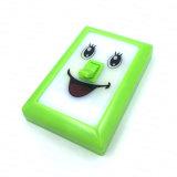 Lächeln PFEILER LED drahtlose Schlafzimmer-Wandschrank-Nachtlampe für Kinder