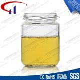 215ml極度の明確なガラス食糧容器(CHJ8034)
