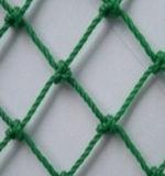 Зеленое завязанное PP/PE ловящ сетью сети безопасности спортов