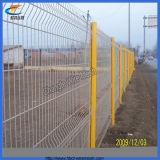 電流を通されたPVCによって塗られる溶接された金網の塀