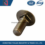 Bout van uitstekende kwaliteit van het Vervoer van het Roestvrij staal DIN603 de Gele
