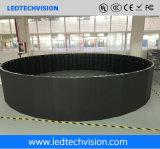 O fabricante da tela do diodo emissor de luz em China, P3.91mm curvou a tela Rental do diodo emissor de luz