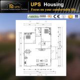 Chambre préfabriquée de longue envergure de service pour l'accommodation avec le certificat de la CE