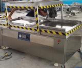 Edelstahl kundenspezifische doppelter Raum-vollautomatische Vakuumverpackung/Verpackmaschine