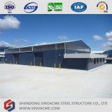 Sinoacme는 강철 구조물 창고 건물을 조립식으로 만들었다