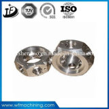 4 pezzi meccanici dell'acciaio dei pezzi meccanici di precisione del tornio di CNC di asse