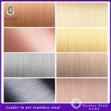 201/304/430 Haarstrichende-Edelstahl-Blatt hergestellt in China