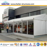 Coffee Shop를 위한 중간 Size Glass Wall Marquee Tent