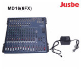 MD16/6fx Professional Audio System 16チャネルDJ Player Mixer