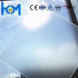 Panneau photovoltaïque trempé à l'eau claire et à l'arc transparent