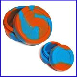 Alta qualidade personalizado Pequenos pratos de silicone DAB Wax Container