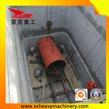 tubulação concreta de 1200mm que levanta a máquina