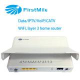IPTV/VoIP/CATV/WiFi Onaccess 454wr를 가진 기가비트 FTTH 대패 ONU WiFi 대패