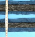 Franja do laço do fio da rede do grânulo da alta qualidade para o vestuário