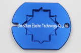 Metallo nero di giro personalizzato della parte di CNC di alta precisione