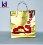 Goldene nichtgewebte HandEinkaufstasche