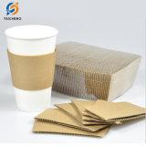 紙コップの袖のコーヒー紙コップの袖