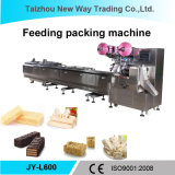 Máquina de empacotamento Jy-L600 automática para doces/chocolate