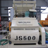 Mezclador concreto eléctrico obligatorio del eje gemelo (500L)