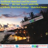 Costruzione sintetica Materils del tetto del Thatch per l'Hawai Bali Maldives
