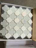 [ثسّوس] بيضاء مختلطة زجاجيّة [برفيفلورووس] أسلوب [وتر جت] قطعة [موسيك تيل]