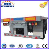 반 3개의 차축 판매를 위한 평상형 트레일러 수송 콘테이너 트레일러