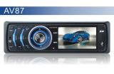 AV87 prennent en charge USB/SD/MMC/MP3/WMA/MP4/RMVB/Avik/MPEG/vob/dat/MPG/jpg voiture lecteur MP3/MP4/MP5 Player