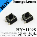Interruptor de tacto SMD com 4 pinos 4.5*4.5*3,8Mm Square Interruptor táctil