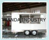 4 de Staaf van het Sap van wielen met de Kiosk van de Popcorn van het Verwarmingstoestel van het Voedsel van de Hamburger van Ce